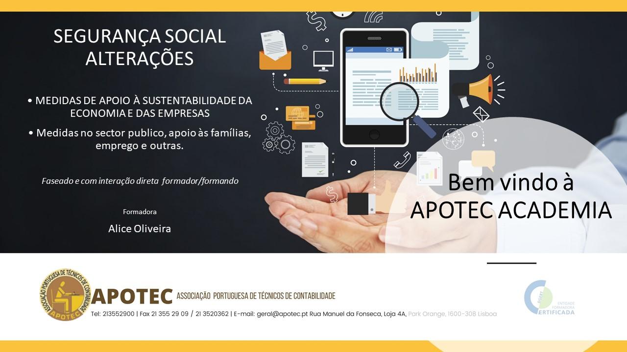 Course Image Segurança Social: alterações